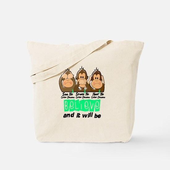 See Speak Hear No Celiac Disease 3 Tote Bag
