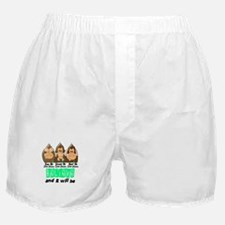 See Speak Hear No Celiac Disease 3 Boxer Shorts