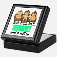 See Speak Hear No Celiac Disease 3 Keepsake Box