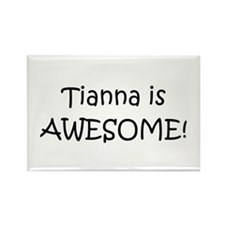 Funny Tianna Rectangle Magnet (100 pack)