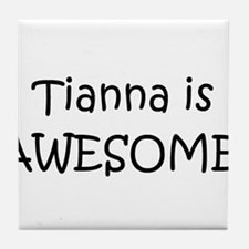 Cute Tianna Tile Coaster