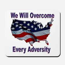 Overcome Adversity Mousepad