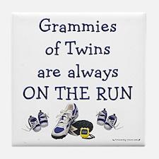 Grammies on the Run Tile Coaster