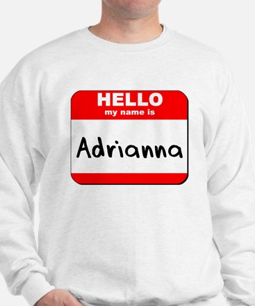 Hello my name is Adrianna Sweater