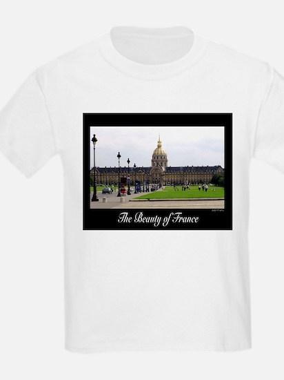 The Beauty of Paris Kids T-Shirt