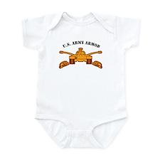 Armor Branch Insignia U.S. Ar Infant Bodysuit