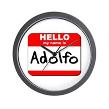 Hello my name is Adolfo Wall Clock