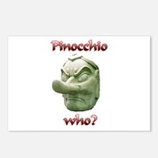 Who's Pinocchio? Postcards (Package of 8)