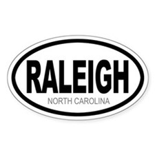 'RALEIGH' Oval Stickers
