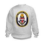 USS CLIFTON SPRAGUE Kids Sweatshirt