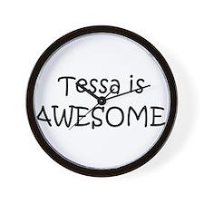 Cool Tessa Wall Clock