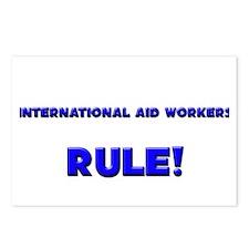 International Aid Workers Rule! Postcards (Package