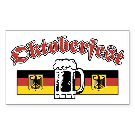 Octoberfest Rectangle Sticker