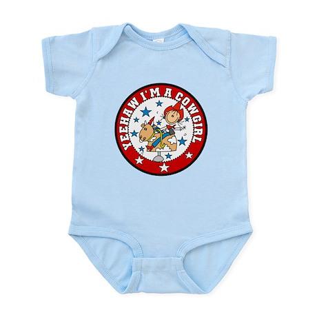 Yeehaw Cowgirl Infant Bodysuit