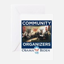 Community organizing Greeting Card