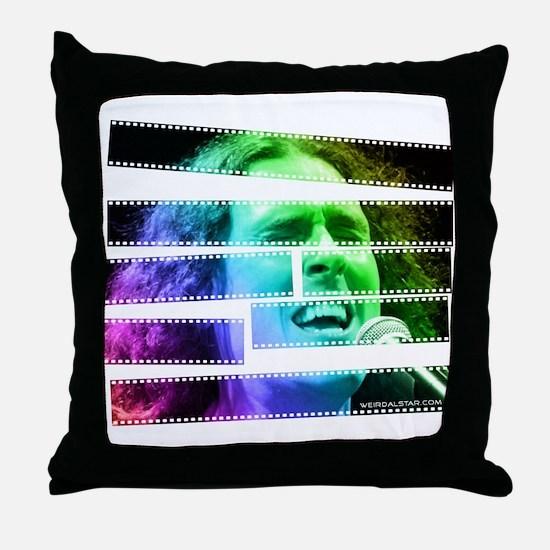 """""""Al on Film"""" Throw Pillow"""