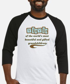 YiaYia of Gifted Grandchildren Baseball Jersey