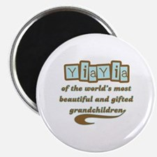 YiaYia of Gifted Grandchildren Magnet