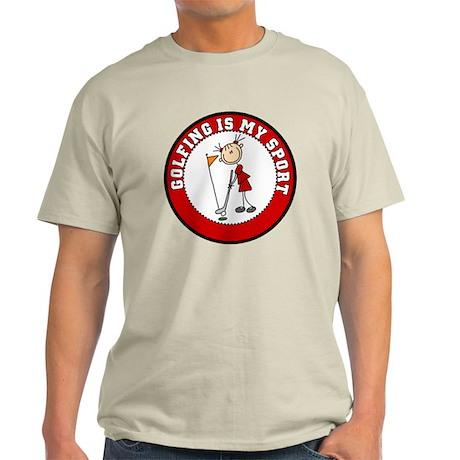 Girl Golf My Sport Light T-Shirt