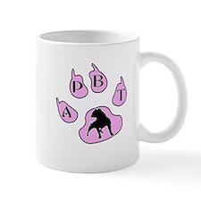 PINK APBT PAW PRINT Mug
