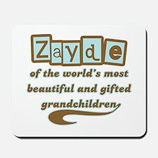 Zayde of Gifted Grandchildren Mousepad