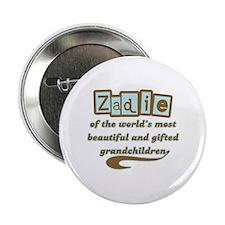 """Zadie of Gifted Grandchildren 2.25"""" Button"""