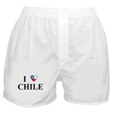 I Love Chile Boxer Shorts