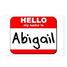 Hello my name is Abigail Postcards (Package of 8)