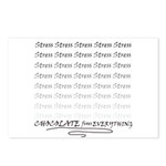 Chocolate fixes Everything Postcards (Package of 8