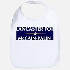 LANCASTER for McCain-Palin Bib