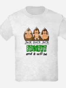 See Speak Hear No Muscular Dystrophy 3 T-Shirt