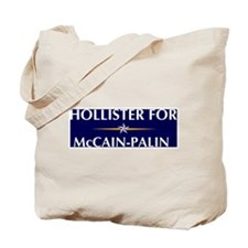 HOLLISTER for McCain-Palin Tote Bag