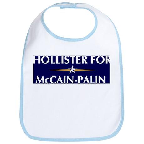 HOLLISTER for McCain-Palin Bib