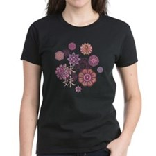 Little Sister with Flowers Tee