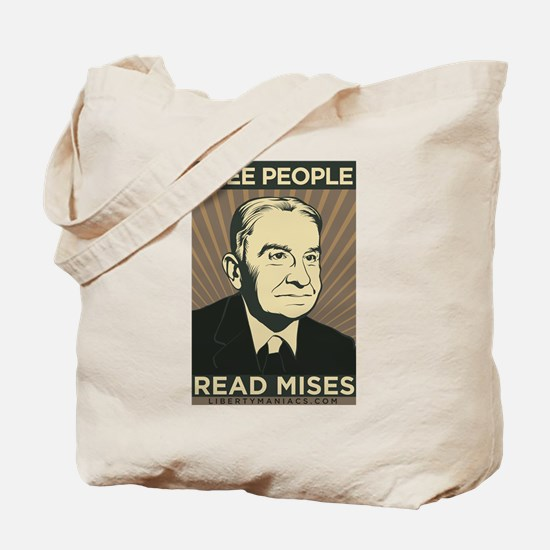 Free People Read Mises Tote Bag