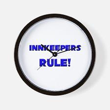 Innkeepers Rule! Wall Clock