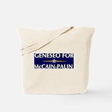 GENESEO for McCain-Palin Tote Bag
