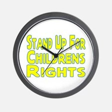 Childrens Rights Wall Clock
