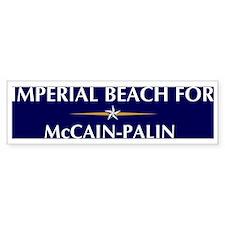 IMPERIAL BEACH for McCain-Pal Bumper Bumper Bumper Sticker