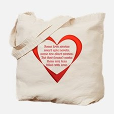 SATC Carrie Love Story Tote Bag