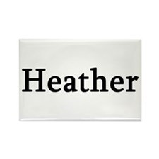 Heather - Personalized Rectangle Magnet (10 pack)