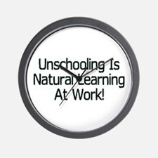 Unschooling Wall Clock