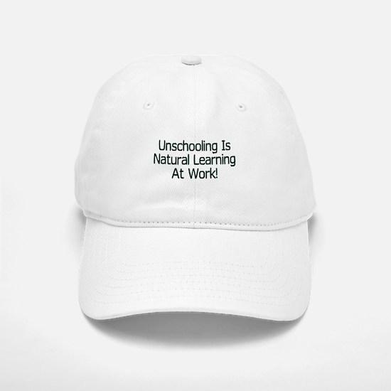 Unschooling Baseball Baseball Cap