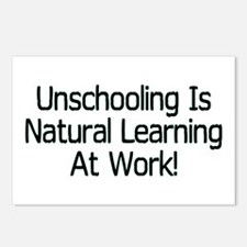 Unschooling Postcards (Package of 8)