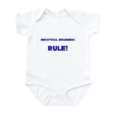 Industrial Engineers Rule! Infant Bodysuit