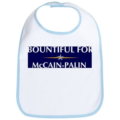 BOUNTIFUL for McCain-Palin Bib