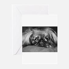 Dog - Pekingese #1 Greeting Cards (Pk of 10)