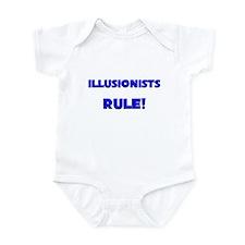Illusionists Rule! Infant Bodysuit