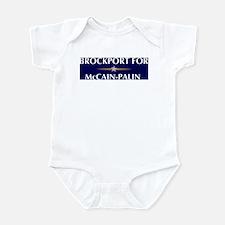 BROCKPORT for McCain-Palin Infant Bodysuit