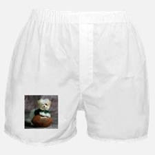 Cute Maltese Puppy Dog Boxer Shorts